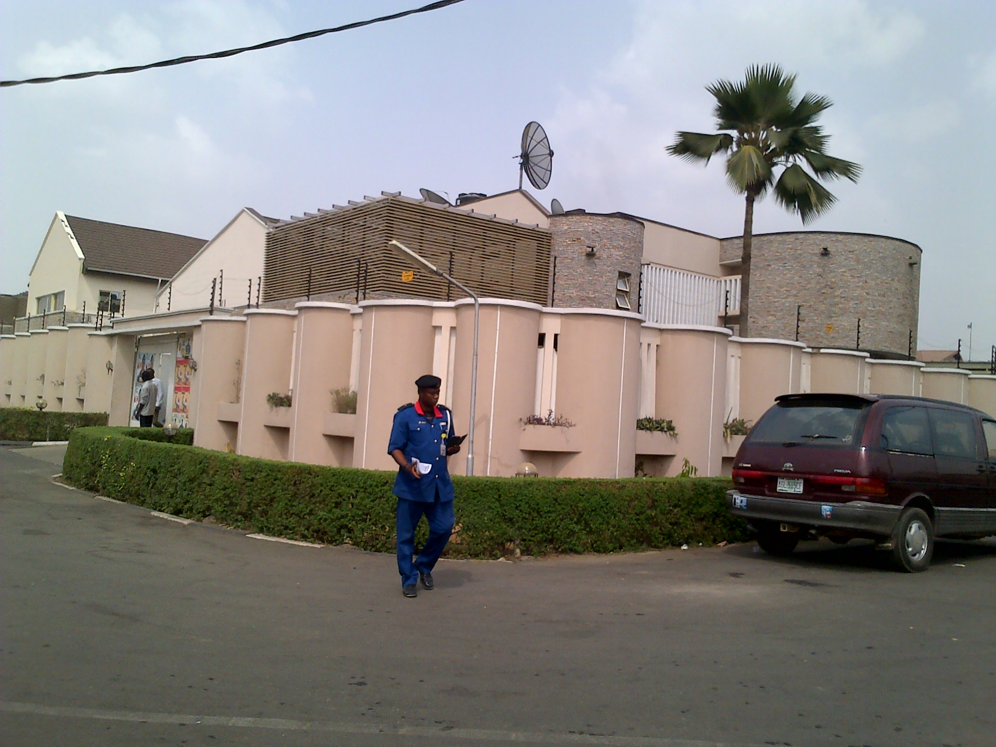 Ajimobi's new office