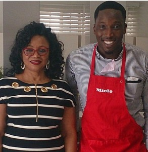 Chef Eros and Folorunsho Alakija (1)